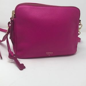 Fossil Crossbody Pink Purse